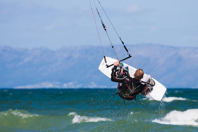 Wyczynowy kitesurfing